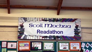 Scoil Mochua, Celbridge Readathon 2015.