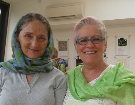 Sharon Hogan and Vera McEvoy, Arthouse. Co. Laois.
