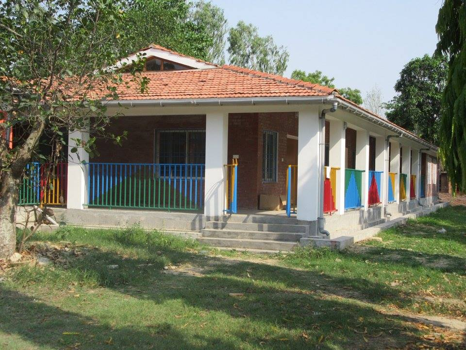 New Children's Unit in Lalgadh Leprosy Hospital, Nepal